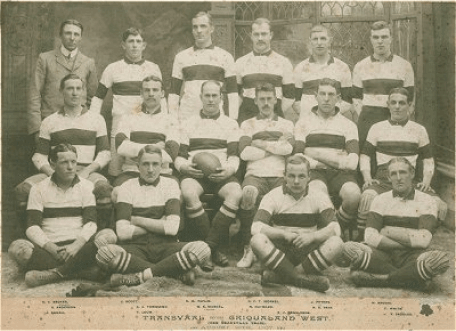 Transvaal Rugby Union was founded making it the 4th oldest rugby union in South Africa.