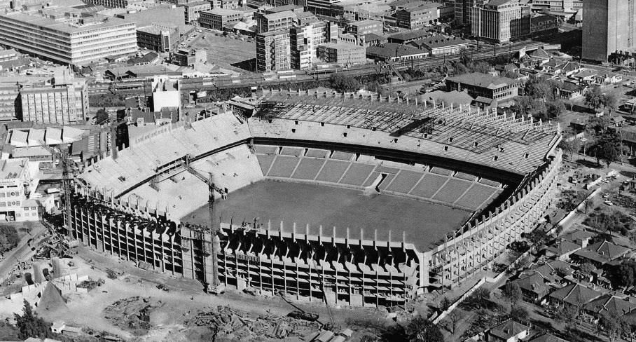 Ellis Park Stadium upgraded to a capacity of 62,500. During this time matches were once again played at the Wanderers.