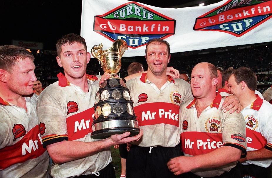 Lions won Currie Cup beating the Sharks 32-9 in Durban