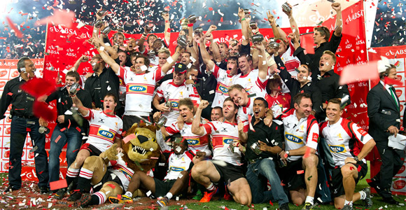 Lions won Currie cup for the first time since 1999, beating the Sharks 42-16 at Ellis Park. CEO Manie Reyneke leaves the union to join Stadium Management SA