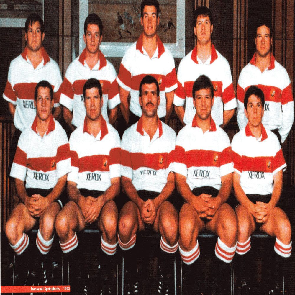 Match vs touring Italian XV was the last game to be played as Transvaal