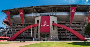 Emirates Airlines announced as new title sponsor from 2015 to 2019, a deal believed to be worth just over R150m. Ellis Park rebranded Emirates Airline Park