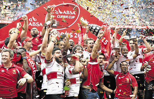 An unbeaten Lions team won the Currie Cup for the first time in nine years