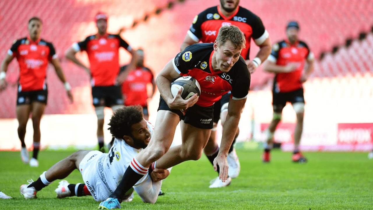 Sharks muscle past Lions