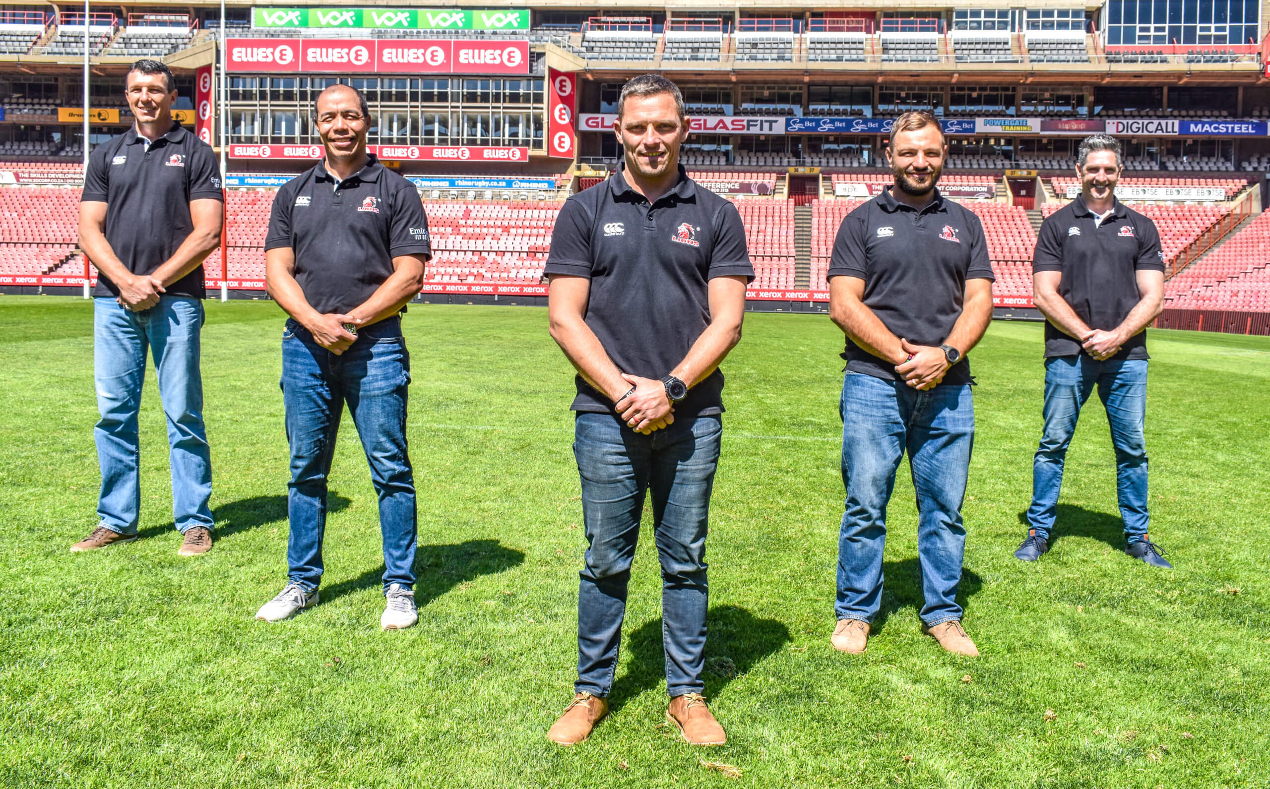 Lions Announce New Coaching Structure